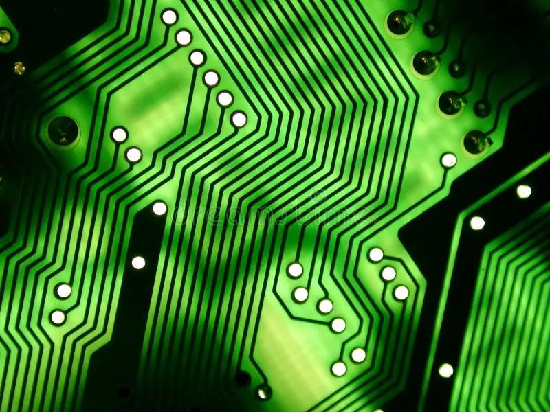 Computer Circuitboard Texture Stock Image