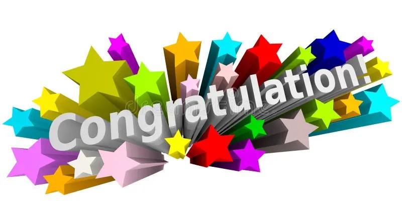 Congratulation 3d Image Stock Illustration - Image: 63818624