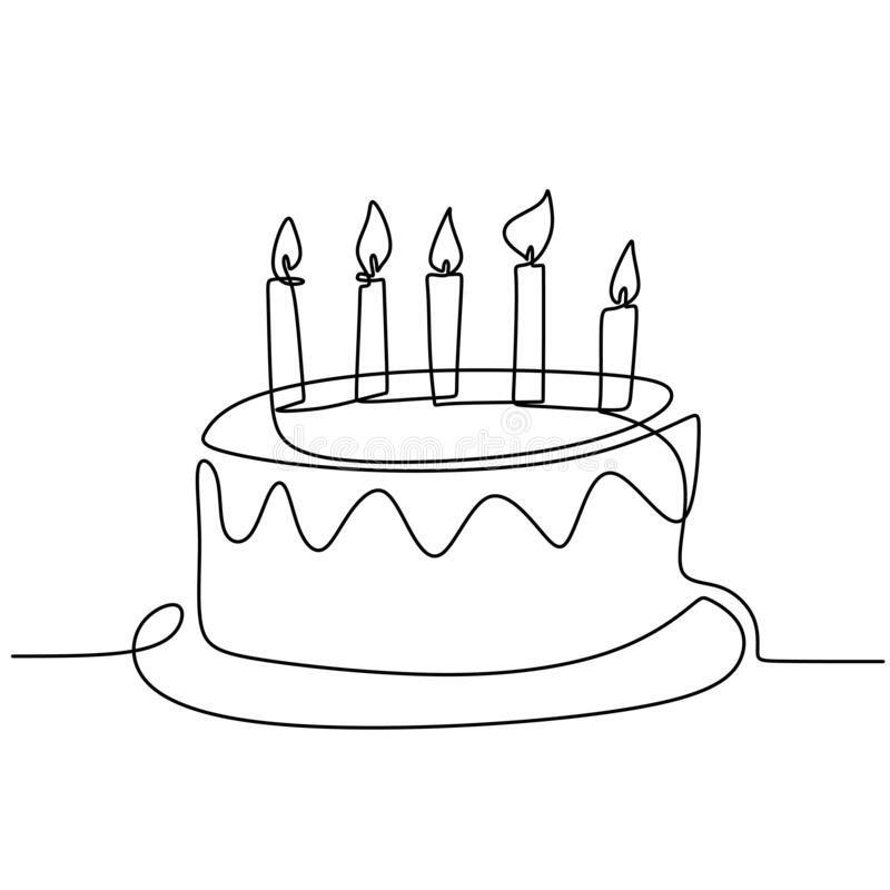 Birthday Cake Line Drawing Stock Illustrations 3 040 Birthday Cake Line Drawing Stock Illustrations Vectors Clipart Dreamstime