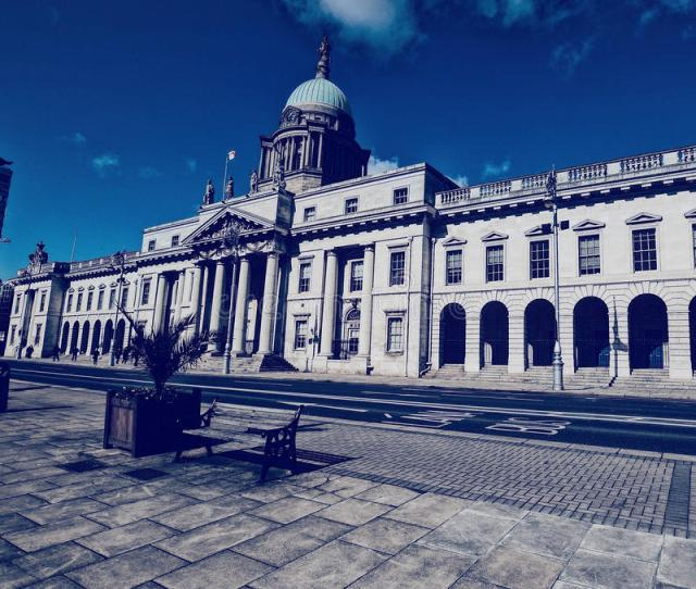 Custom House In Dublin Free Public Domain Cc Image