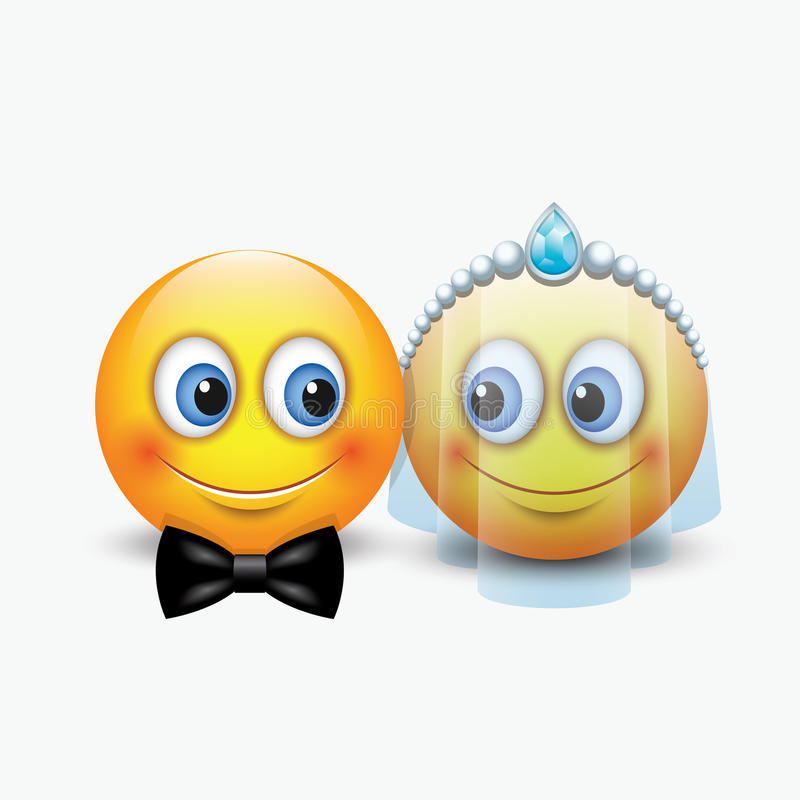 Download Marriage Smiley 1 stock illustration. Illustration of ...