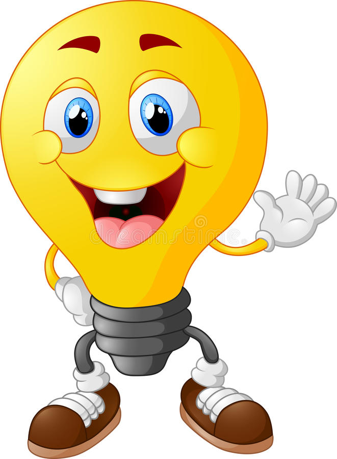 Cartoon Picture Light Bulb