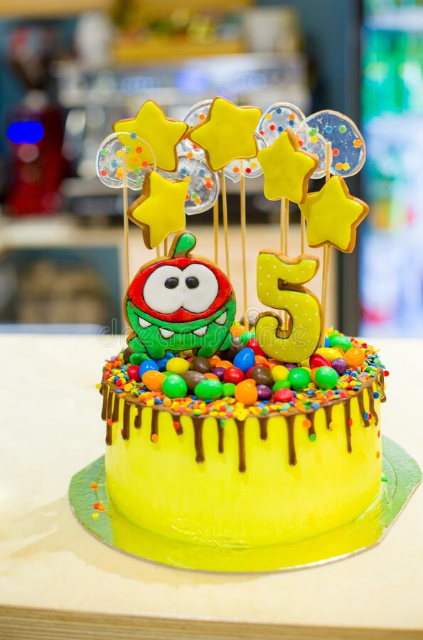104 Birthday Cake 5 Year Photos Free Royalty Free Stock Photos From Dreamstime