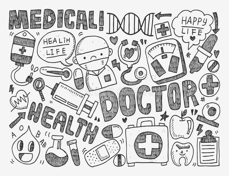 Medical Cartoon Drawing