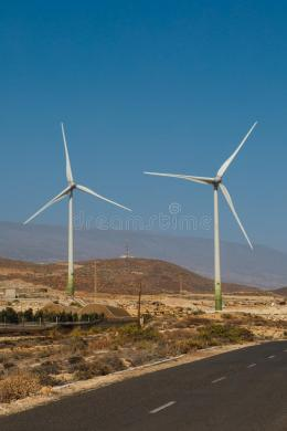 Electric Wind Turbines Farm Stock Image   Image of generation     Download Electric Wind Turbines Farm Stock Image   Image of generation   environmental  110328371