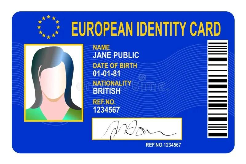 Identification Clip Art