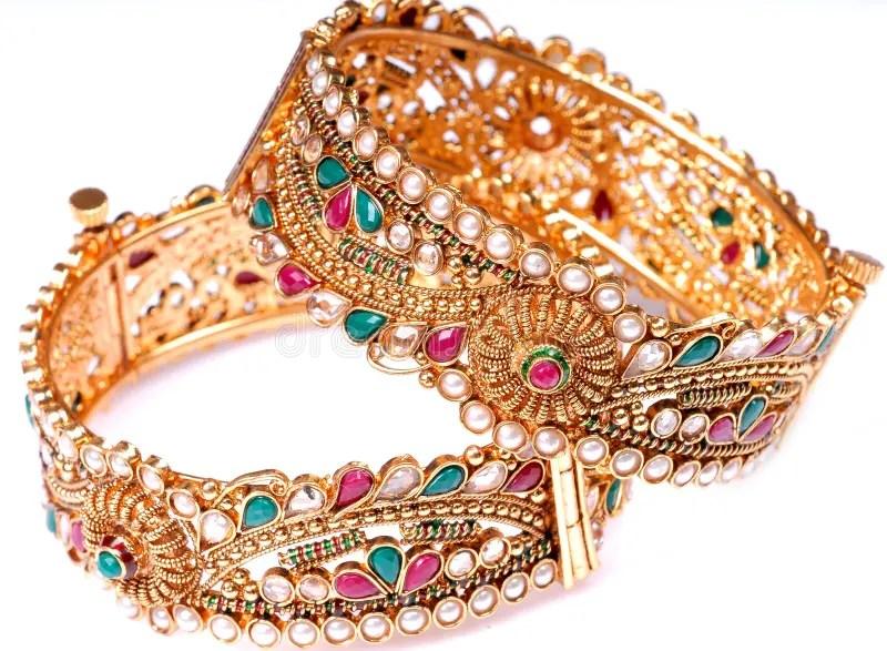 Expensive Wedding Gift Jewellery Stock Photo
