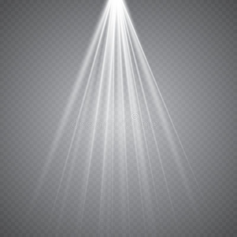 stage lighting transparent effects