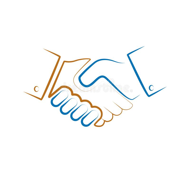 Shaking Hand Logo Stock Illustrations 877 Shaking Hand Logo Stock Illustrations Vectors Clipart Dreamstime