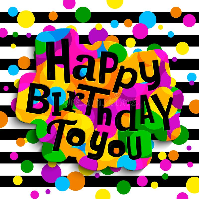 Happy Birthday Graffiti Stock Illustrations 463 Happy