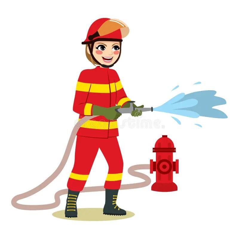 Female Firefighter Stock Illustrations 564 Female Firefighter Stock Illustrations Vectors Clipart Dreamstime