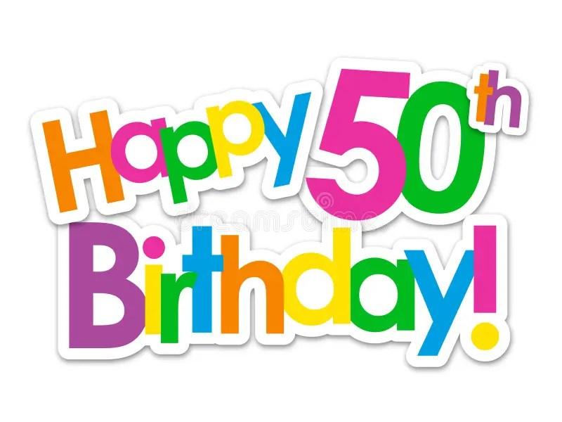 50th Birthday Stock Illustrations 3 133 50th Birthday Stock Illustrations Vectors Clipart Dreamstime