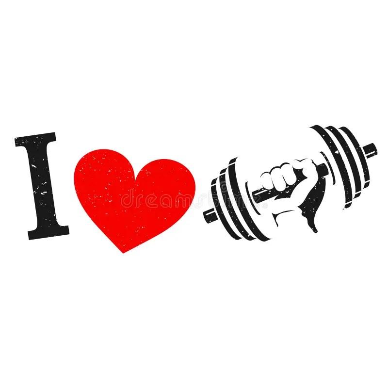 Download I Love Gymnastics Silhouette Stock Vector - Illustration ...