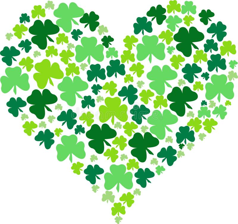 Download Heart, Shamrock, Four Leaves Icon. Simple Thin Line ...