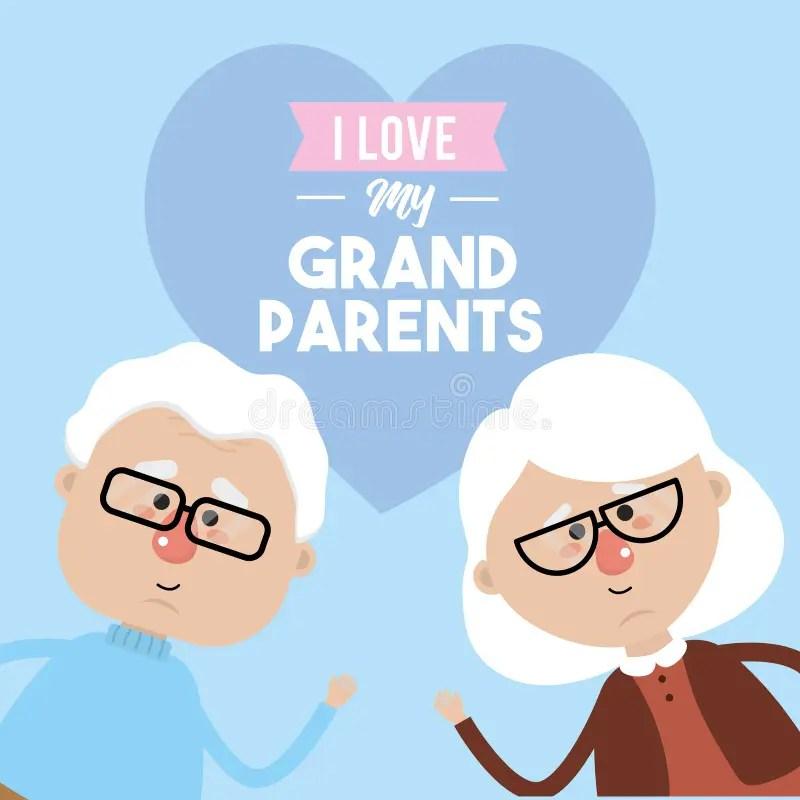 Download Grandparents Stock Illustrations - 13,987 Grandparents ...