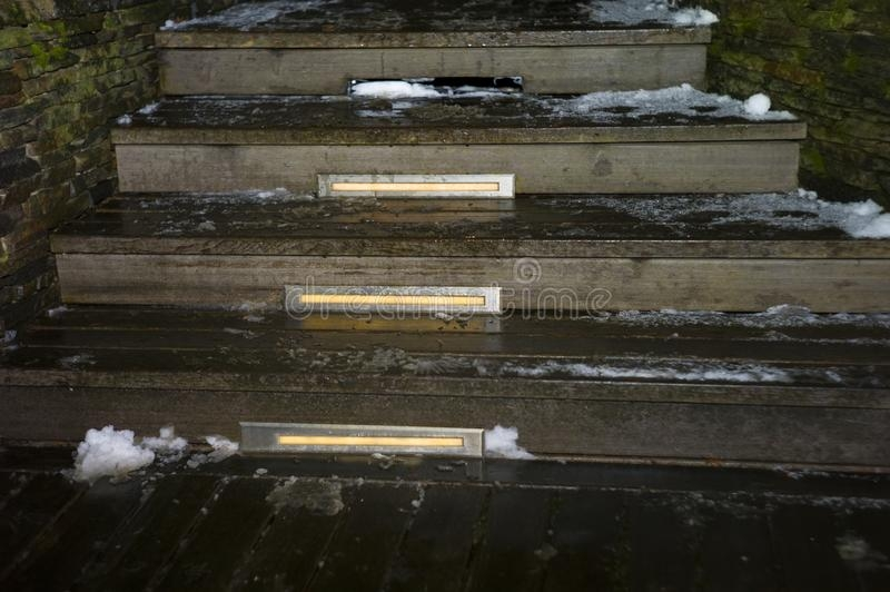 Slippery Steps Stock Photos Download 549 Royalty Free Photos   Slippery Wood Stairs Outdoor   Composite Decking   Non Slip Stair Tread   Porch   Hardwood   Prevent Slips
