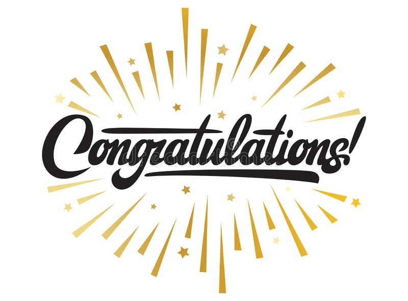 Congratulations Stock Illustrations – 130,997 Congratulations Stock  Illustrations, Vectors & Clipart - Dreamstime