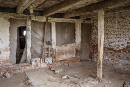 Interior Old Abandoned Building Stock Photo Royalty Free Of An Barn Pictures Images And Photos