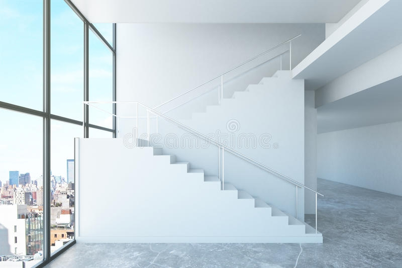 Concrete Stairs Side View Stock Illustrations – 220 Concrete | Staircase Side Window Designs | Window Furniture | Two Story | Angled Staircase | Bedroom | Corner