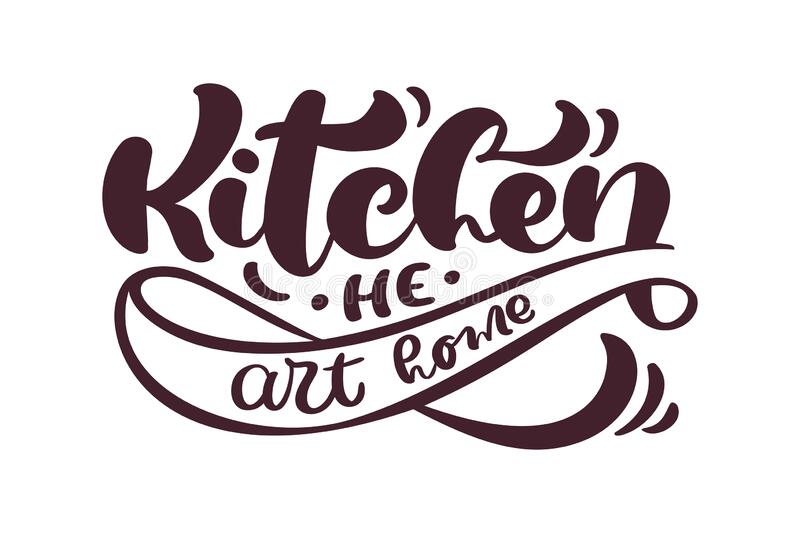 Download Home Chef Calligraphy Lettering Vector Text For Food ...