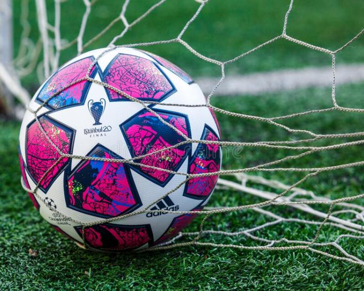 KYIV, UKRAINE — March 03 12, 2020: Official Match Ball Of ...