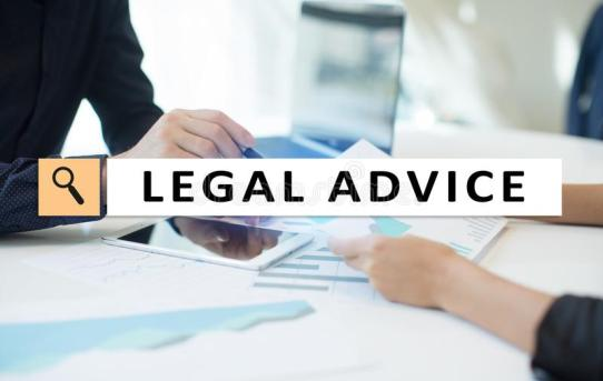Legal Advice Icons On Mobile Phone Screen Attorney At Law Consultation Supprot Business