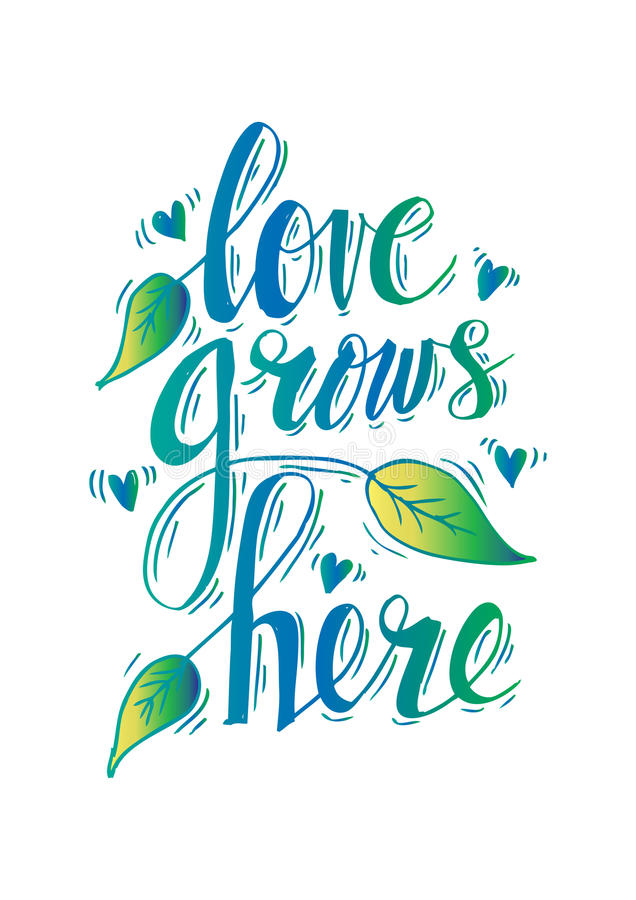 Download Love Grows Stock Illustrations - 196 Love Grows Stock ...