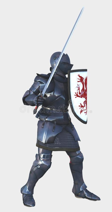 Knight Helmet Side View