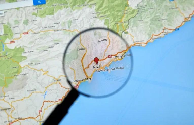 saint jean cap ferrat location on the france map » ..:: Edi Maps ...
