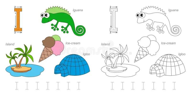 Letter I Igloo Stock Illustrations 60 Letter I Igloo