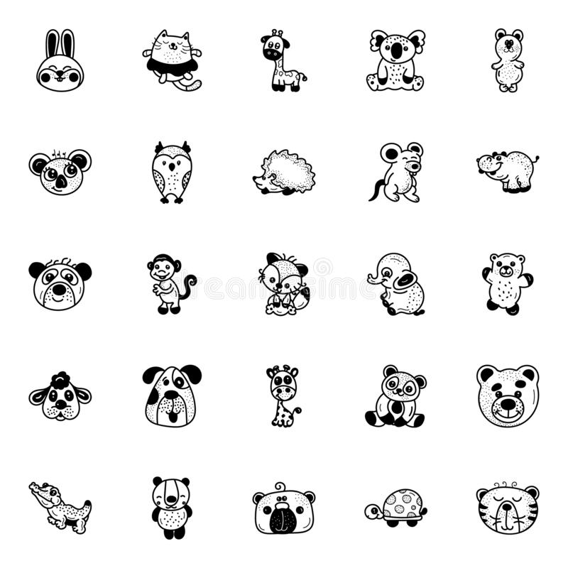 Animal Drawings Stock Illustrations 6 225 Animal Drawings Stock Illustrations Vectors Clipart Dreamstime