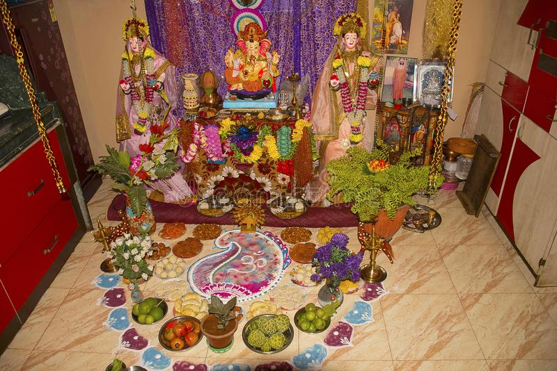 simple decoration ideas for ganesh festival at home ganpati