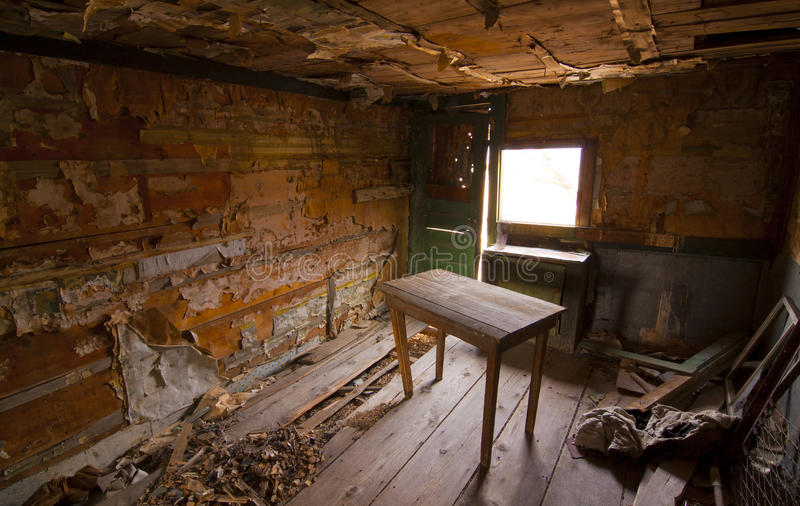 Rustic Shack Interior Stock Image Image Of Frontier