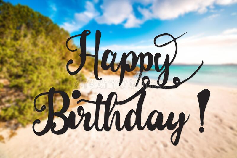 3 338 Beach Happy Birthday Photos Free Royalty Free Stock Photos From Dreamstime
