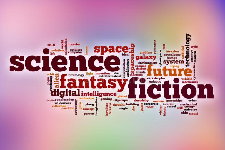 Science Fiction Word Cloud With Abstract Background Stock Image     Download Science Fiction Word Cloud With Abstract Background Stock Image    Image of design  futuristic