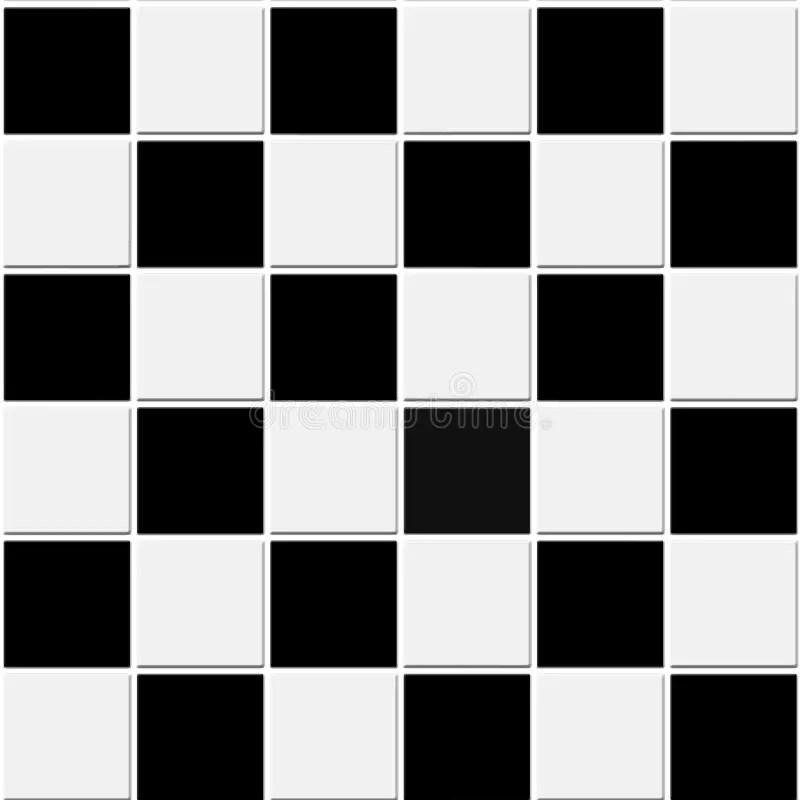 seamless black and white tiles texture