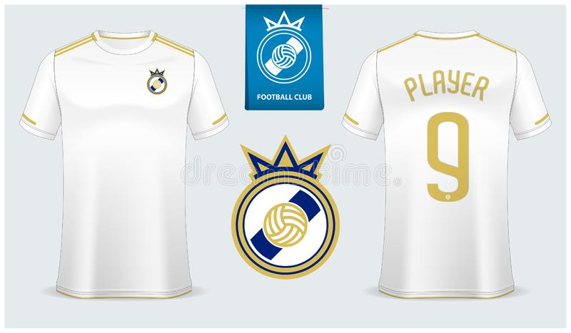 Download White T-shirt Sport Design Template For Soccer Jersey ...