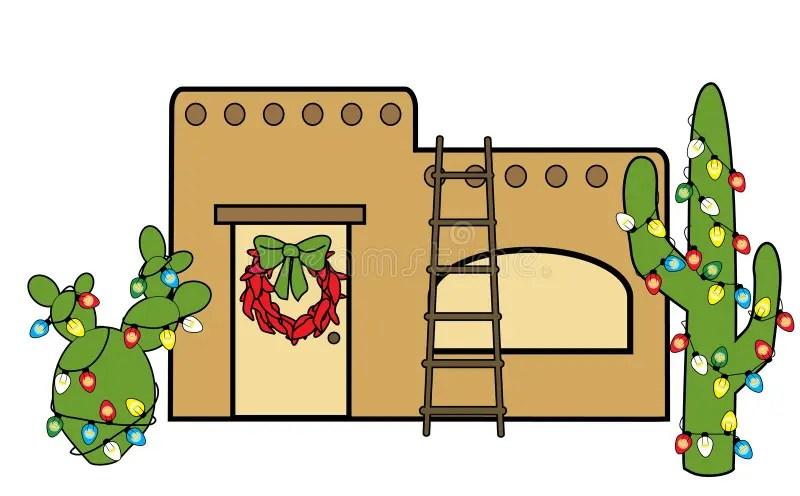 Southwest Christmas Stock Illustration Illustration Of