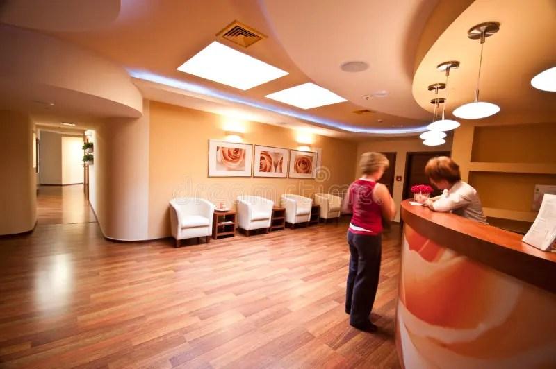 SPA Waiting Room Stock Photo Image Of Medical Modern