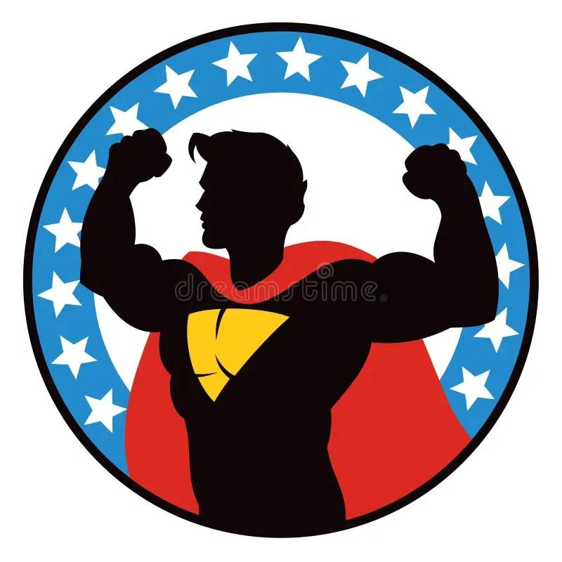 Superhero Logo Stock Vector Illustration Of Costume