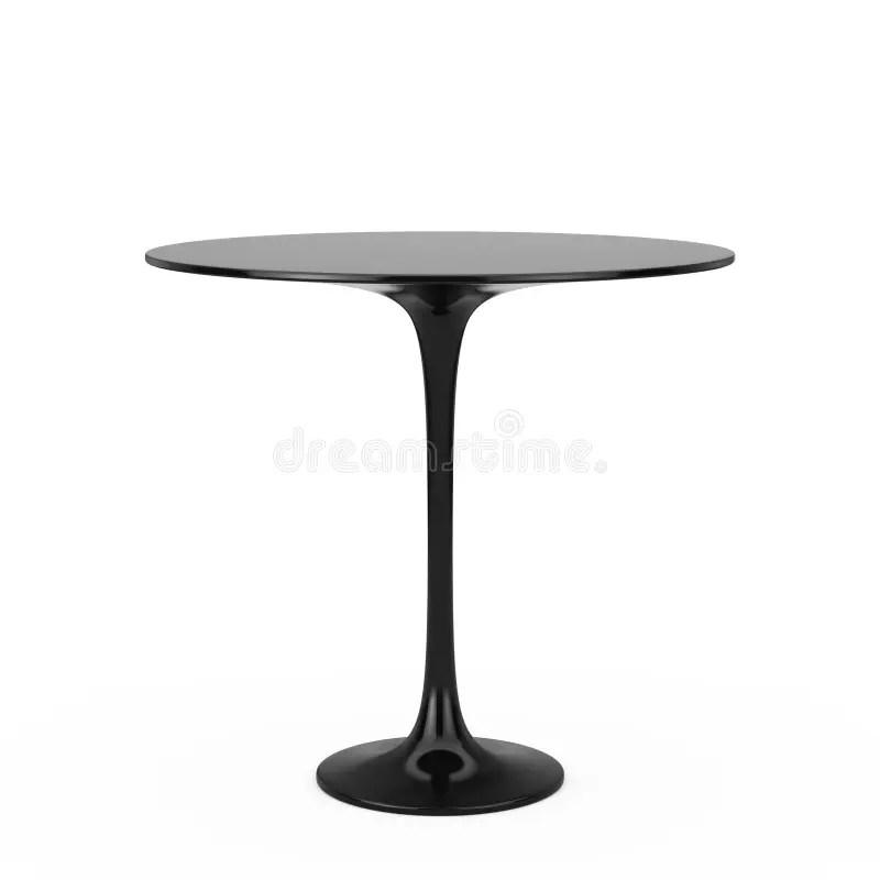 table ronde rouge en plastique moderne
