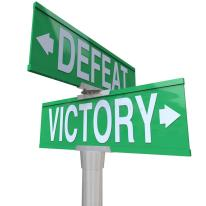 Image result for victory or defeat