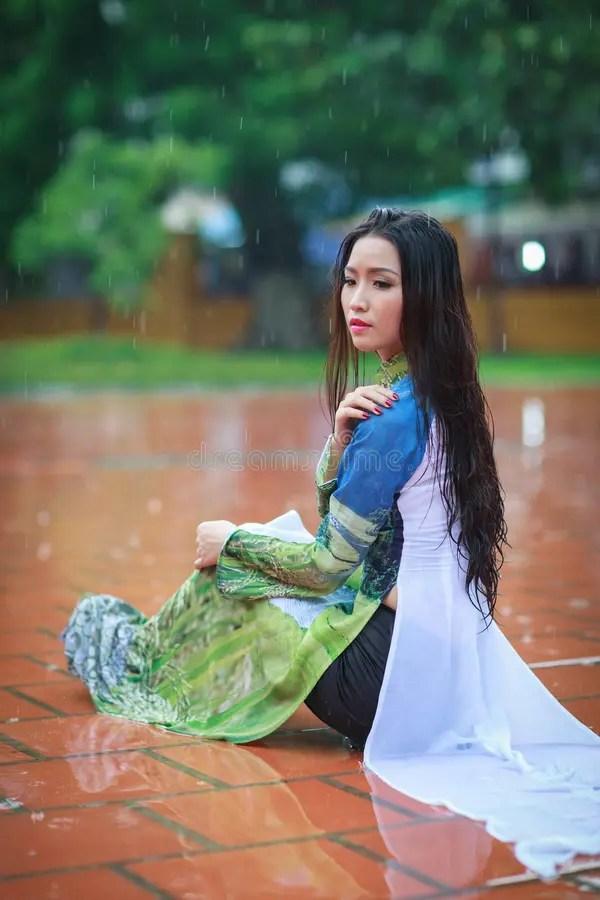 Holding Umbrella Rain