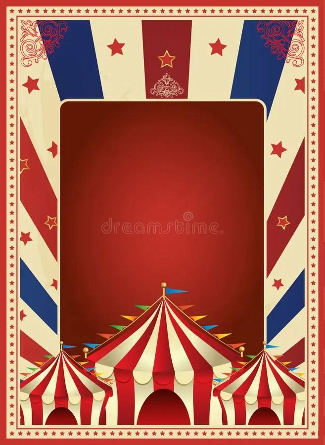 Vintage Carnival Poster Template Vector Mardi Gras