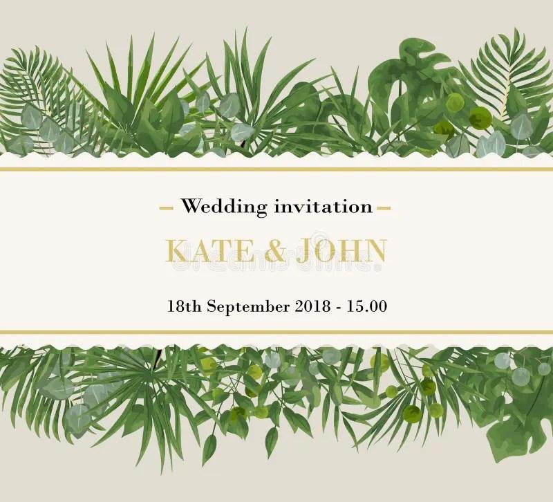 wedding invitation rsvp modern card