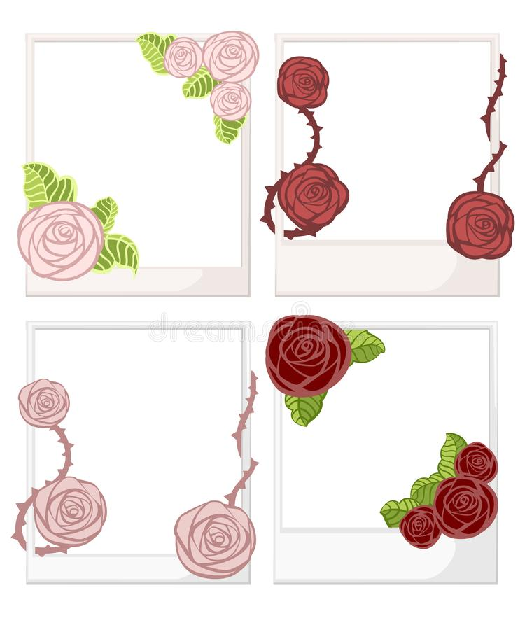 Roses And Border Paper Thorns