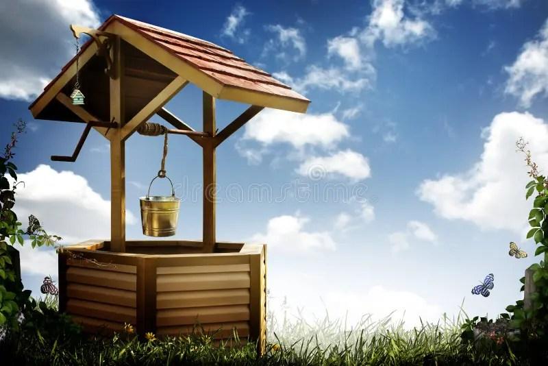Wishing Well Stock Image Image Of Hope Well Outdoor 20260749