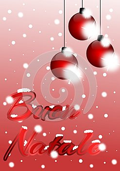 Christmas Greeting Cards in italian