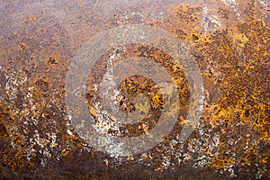 Metal Rust Texture Abstract Grunge Background