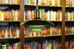 Books and bookshelves Stock Photos